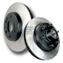 Picture of Centric Brake Rotors - Premium -  Vented (Front) disc BRZ