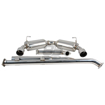 Picture of DC Sports Stainless Steel Dual Canister Cat-back Exhaust