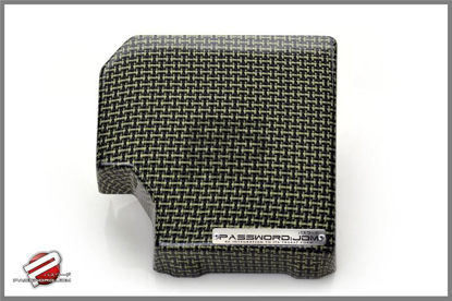 Picture of Password JDM FUSE BOX COVER (TYPE-2) Carbon Kevlar