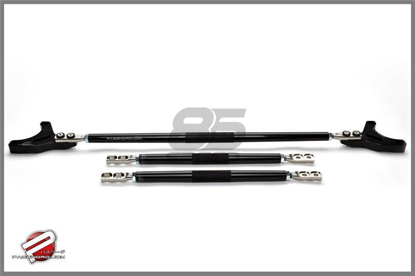Picture of Password JDM Strut Tower Bar Black