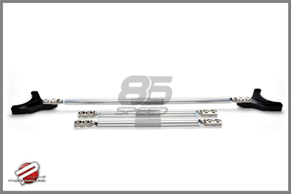 Picture of Password JDM Strut Tower Bar Silver