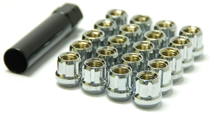 Picture of Muteki Classic Lug Nuts: Chrome; 12X1.25