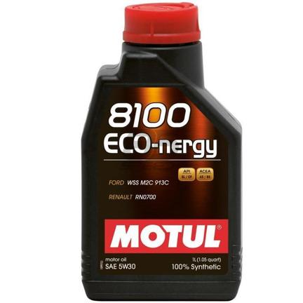 Picture of MOTUL 5w30 8100 Series Eco-Nergy Oil - 1L Bottle (1.05 qt)