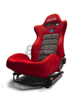 Picture of BC08-RSSS-B  -Buddy Club Seats - Racing Spec Sport Reclinable  Color: Black