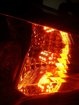 Picture of Rear LED Turn Signals Scion FR-S / Subaru BRZ - DEEP AMBER
