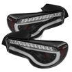 Picture of Spyder LED Taillights Black FRS/BRZ/86