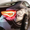 Picture of Spyder LED Taillights Red FRS/BRZ/86