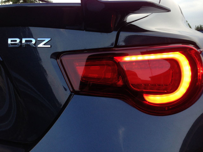 Picture of TOMS LED Taillights (USDM Spec, DOT APPROVED ) Scion FR-S / Subaru BRZ - RED -TM-81500-TZN61