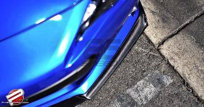 Picture of Password JDM Dry Carbon Front Splitter -Subaru BRZ