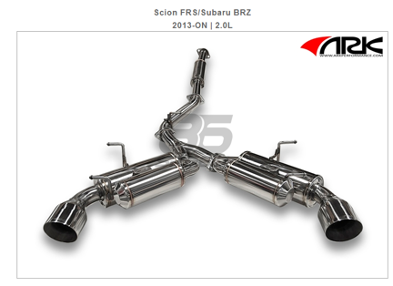 Picture of ARK GRIP - Exhaust System POLISHED Tip Scion FRS/Subaru BRZ