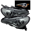 Picture of Spyder BRZ Projector Headlights W/DRL LED (CCFL Halo)-Black