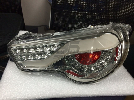 Picture of Spyder Version 2 Tail Lights- Chrome