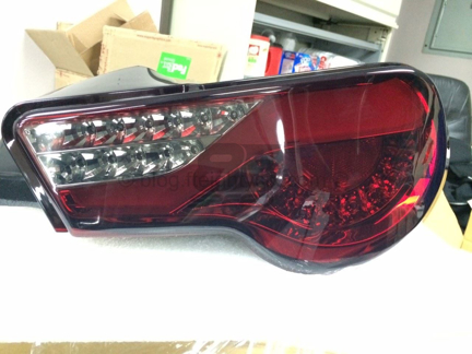 Picture of Spyder Version 2 Tail Lights- Red Smoke