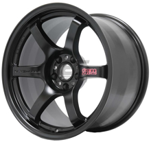 Picture of Gram Lights 57DR 18x9.5 +38 5x100 Semi-Gloss Black Wheel