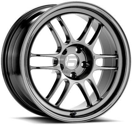 Picture of Enkei RPF1 17x9 5x100 +35 Shiny Black Chrome Wheel