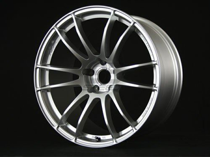 Picture of Gram Lights 57Xtreme 18x9.5 5x100 +40 Sunlight Silver Wheel