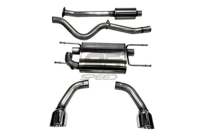 "Picture of Corsa 2.5"" Sport Cat-back Exhaust Stainless Steel Tips FRS/BRZ/86 -  14864"