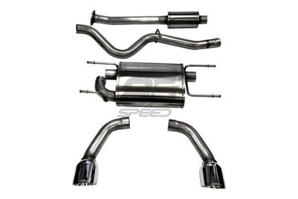 """Picture of Corsa 2.5"""" Sport Cat-back Exhaust Stainless Steel Tips FRS/BRZ/86 -  14864"""