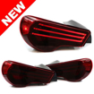 Picture of Helix Tribar FRS/GT86/BRZ taillights -RED LENS Black Housing (DISCONTINUED)