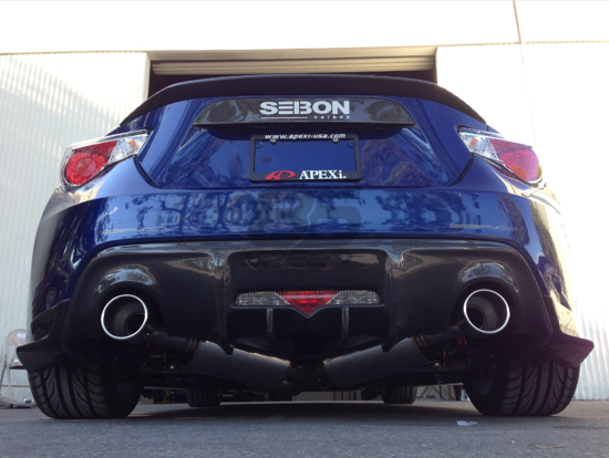 Picture of APEXi N1 EVO-R Exhaust-FRS
