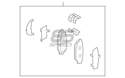 Picture of Toyota Rear Pad Kit