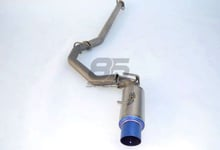Picture of Invidia Full Titanium Single Exit Cat-Back Exhaust
