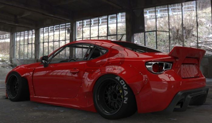 Picture of GReddy X Rocket Bunny V2 Kit-FRS/86/BRZ