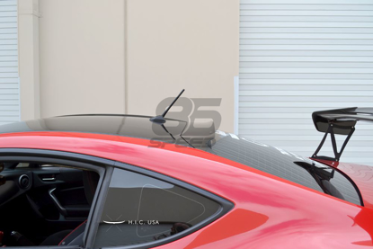 Picture of H.I.C. Gloss Black Rear Visor FRS/BRZ/86