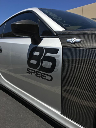 Picture of 86Speed Door Sticker (pair)