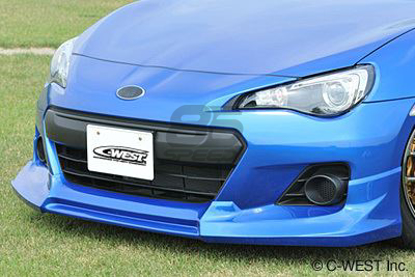 Picture of C-West BRZ Front Half Spoiler