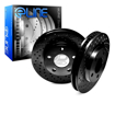Picture of R1 Concepts E Line  Brake Rotors - Front (Black)