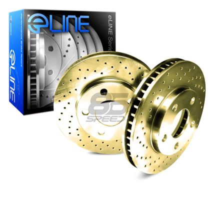 Picture of R1 Concepts E Line  Brake Rotors - Front (Gold)
