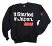 """Picture of What Monsters Do """"It Started In Japan"""" Crew neck Sweatshirt"""