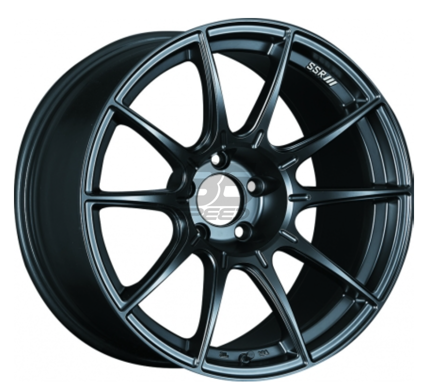 Picture of SSR GTX01 18X9.5 +40 Flat Black Wheel