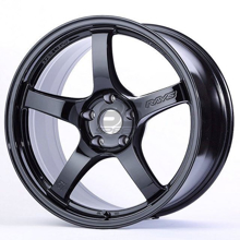 Picture of Gram Lights 57CR 18x9.5 5x100 +38 Glossy Black Wheel