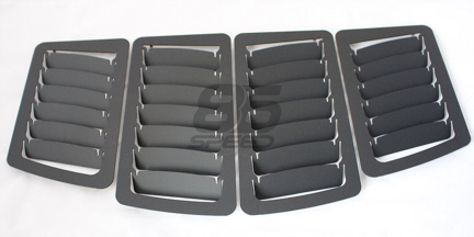 Picture of Verus FR-S / BRZ / GT86 - Slanted Hood Louver Kit (Black)