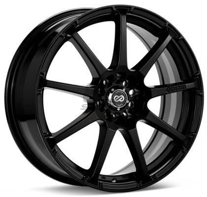 Picture of Enkei EDR9 17x7 5x100/114.3 +45 Black Wheel