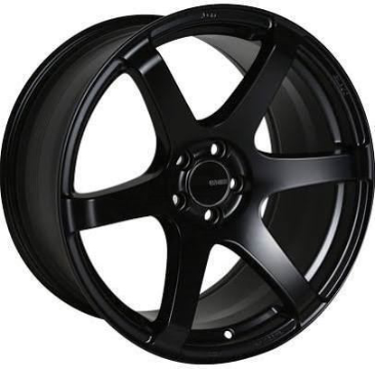 Picture of Enkei T6S 18x9.5 5x100 +45 Matte Black Wheel