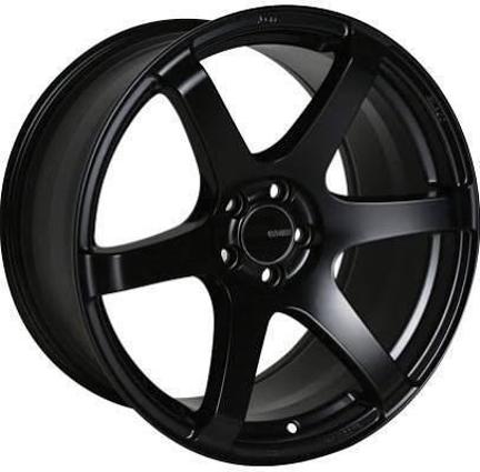 Picture of Enkei T6S 18x9.5 5x100 +45 Matte Black Wheel