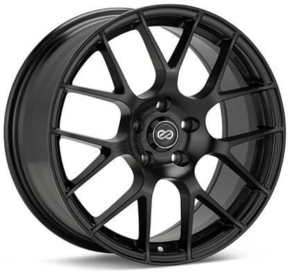 Picture of Enkei Raijin 18x9.5 5x100 +45 Black Wheel