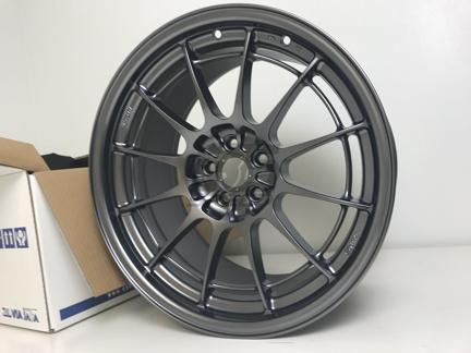 Picture of Enkei NT03+M 18x9.5 5x100 +40 Gunmetal Wheel