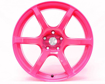 Picture of Gram Lights 57C6 18x9.5 5x100 +40 Luminous Pink Wheel