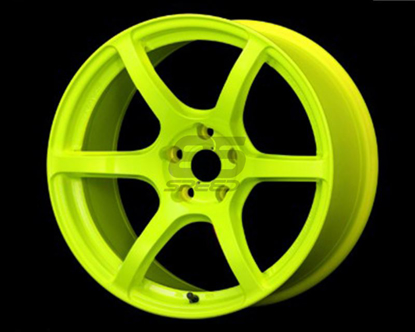 Picture of Gram Lights 57C6 18x9.5 5x100 +40 Luminous Yellow Wheel