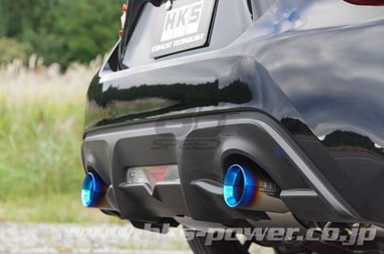 Picture of HKS LEGAMAX Sports S-Tail Ti FRS/BRZ/86
