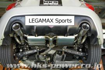 Picture of HKS Super Exhaust System (SMC R-SPEC + LEGAMAX Sports)