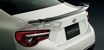 Picture of OEM Subaru BRZ Rear Trunk Spoiler (Unpainted)