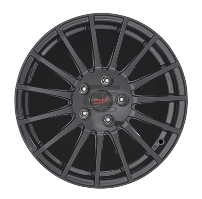 Picture of STI Black Alloy Wheel - 17""