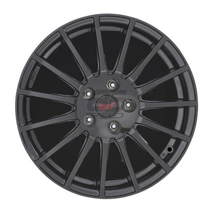 """Picture of STI Black Alloy Wheel - 17"""""""