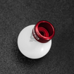 Picture of COBB 6-Speed Delrin Shift Knob - White w/ Race Red