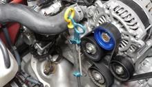 Picture of Cusco Billet Aluminum Engine Oil Dip Stick Holder-FRS/BRZ/86(965-730-E)